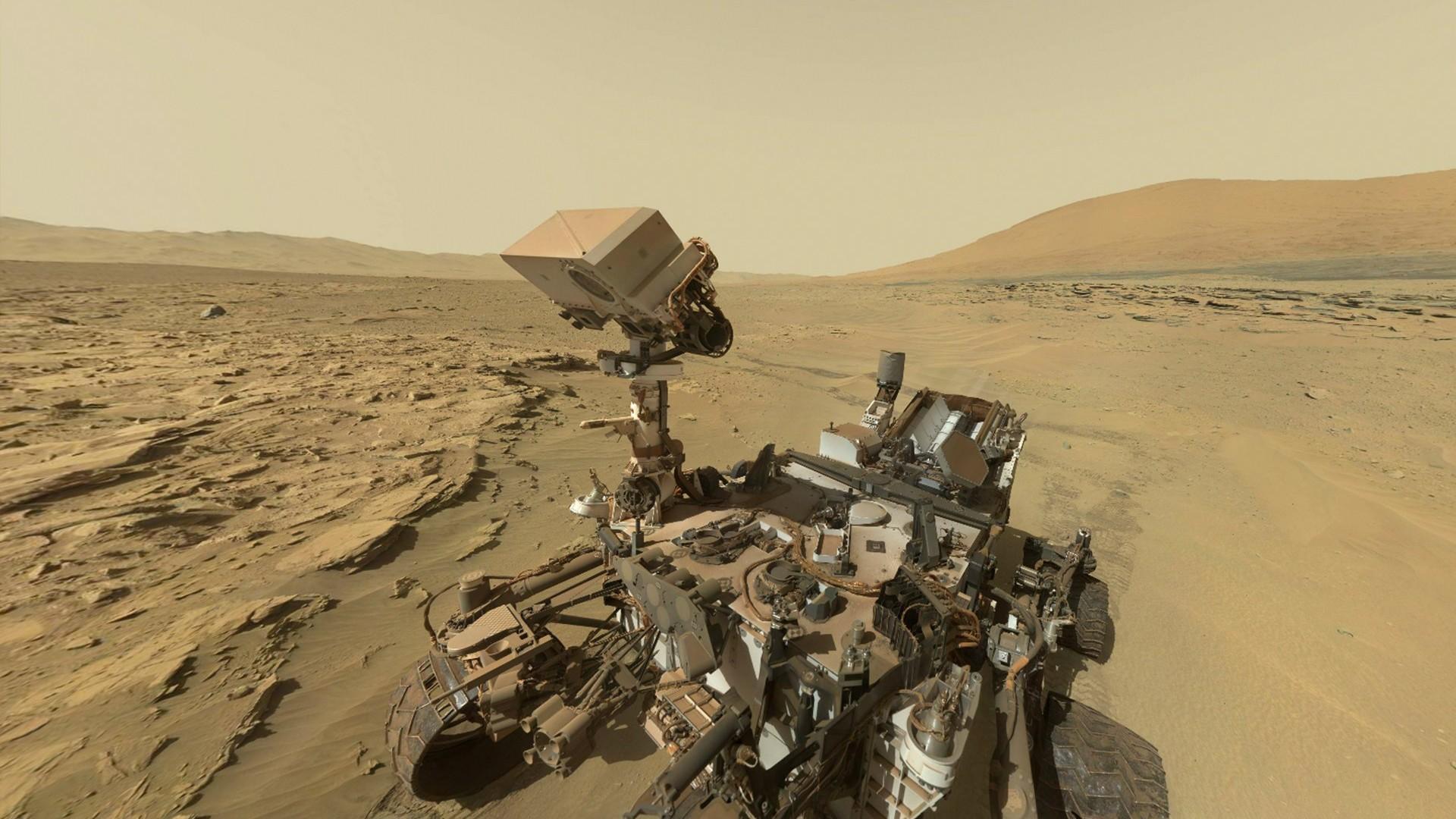 sterylizowanie kosmicznych robotów