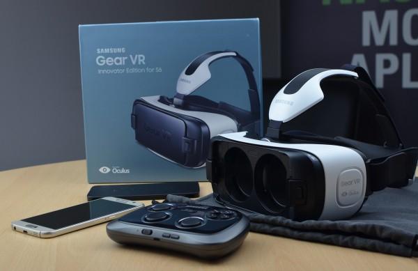 Samsung Gear VR - pudełko i urządzenie