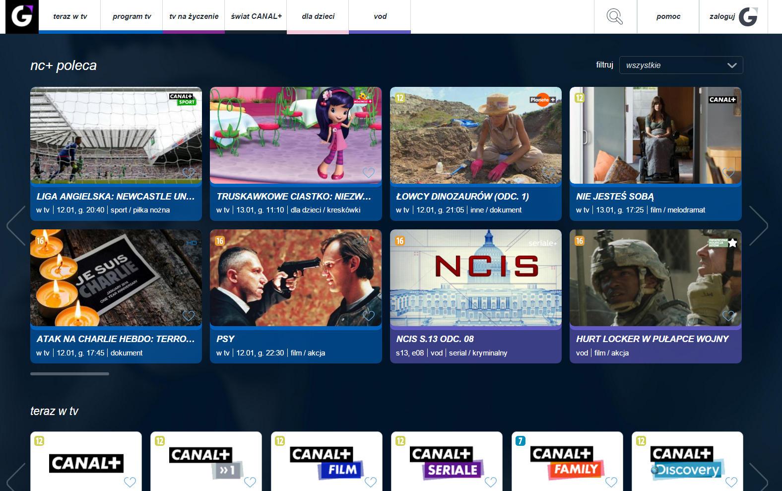 Player+ zofertą Canal+
