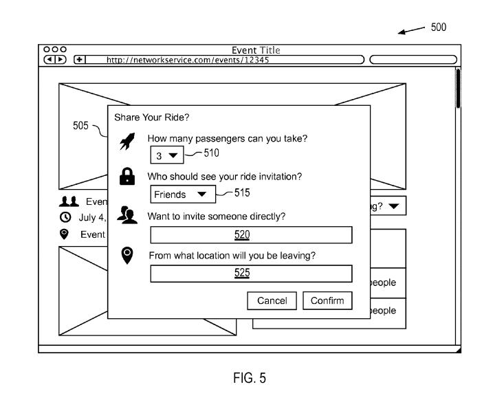 Facebook patent