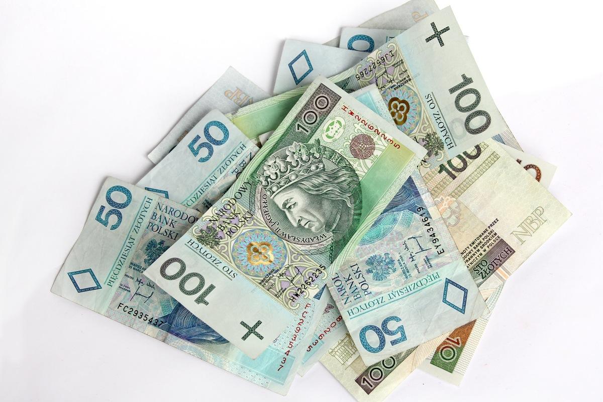 polskie pieniądze PLN