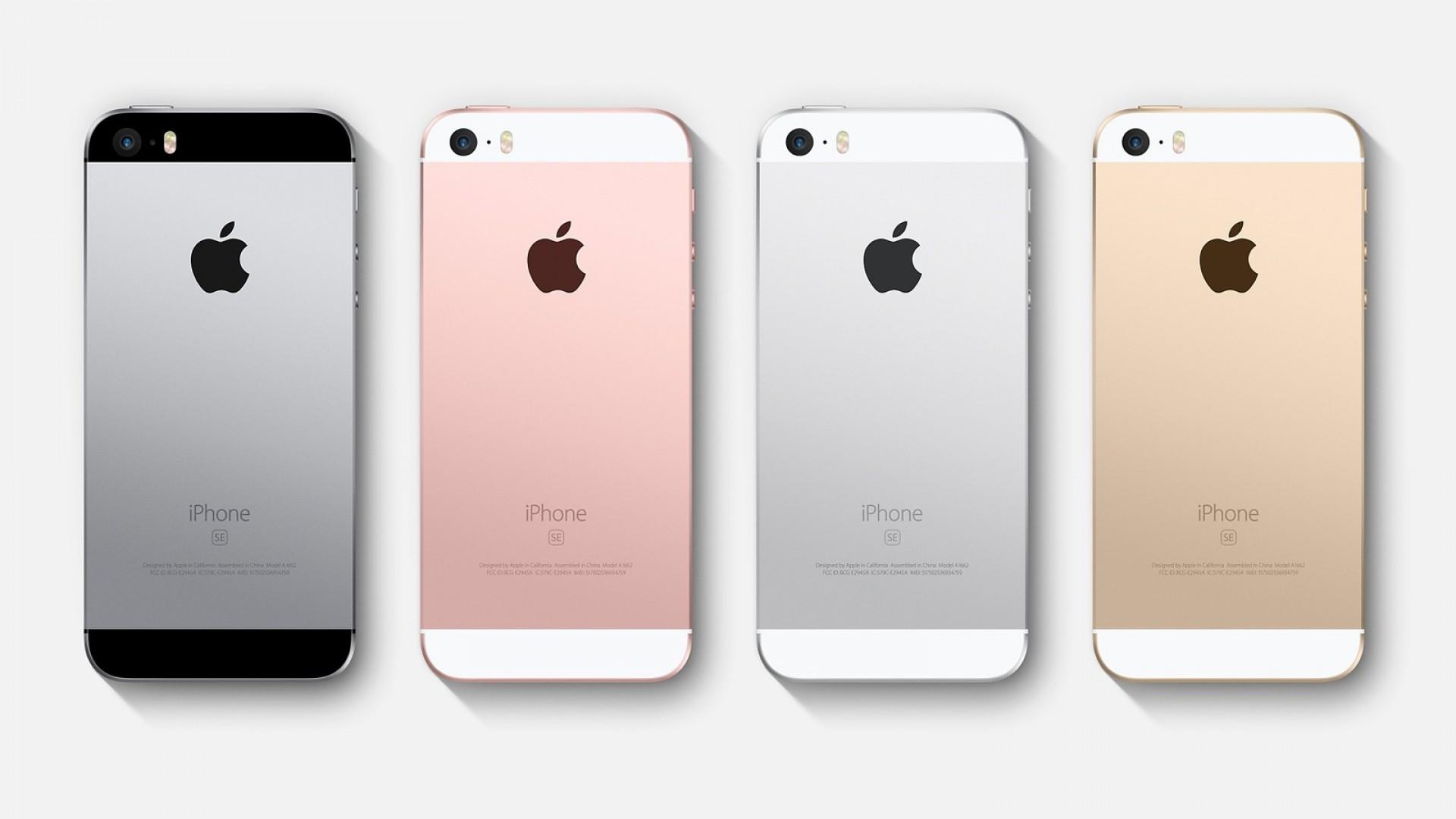 iPhone SE 2 w różnych kolorowych wersjach
