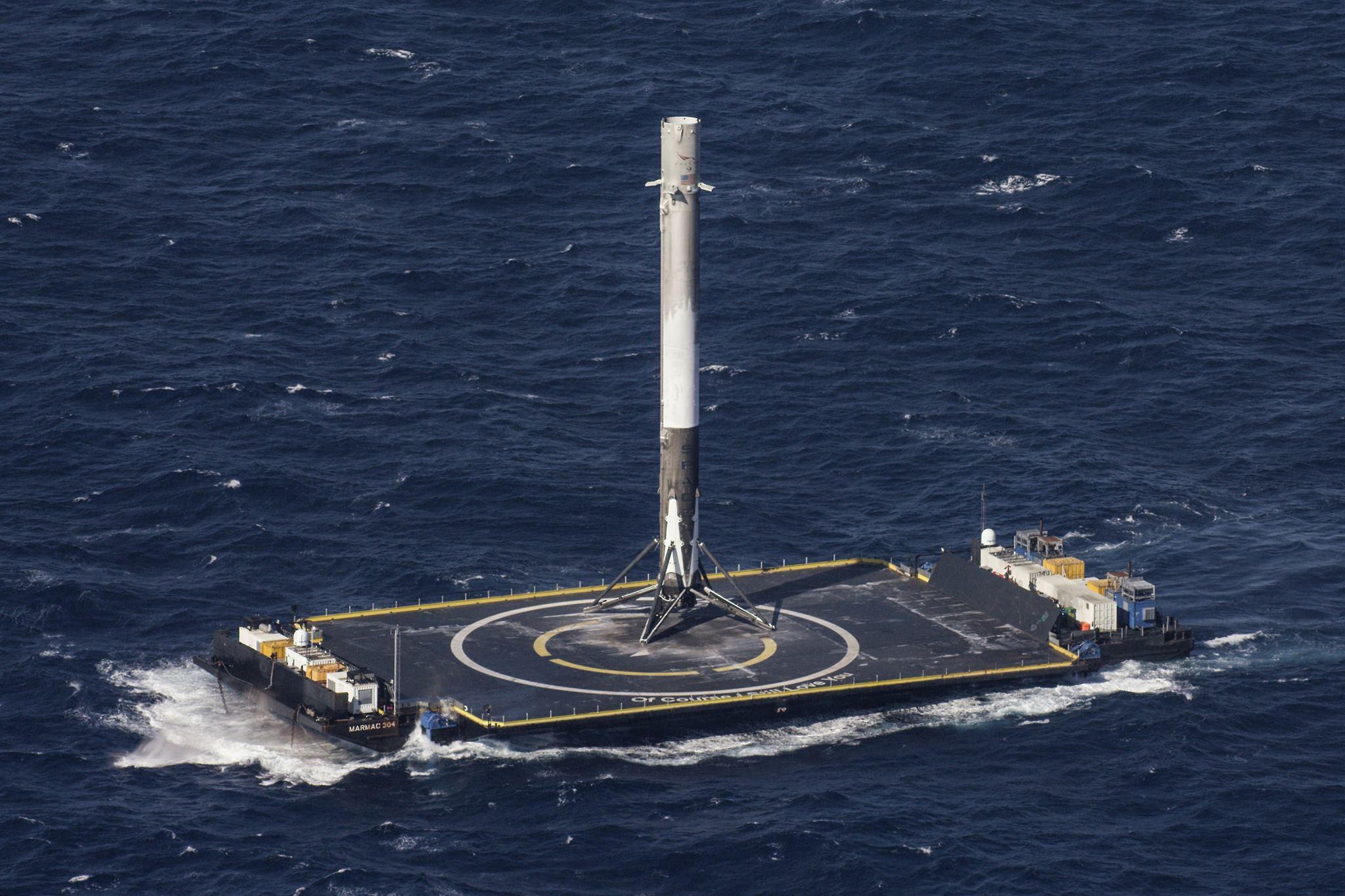 rakieta SpaceX Falcon 9 Block 5