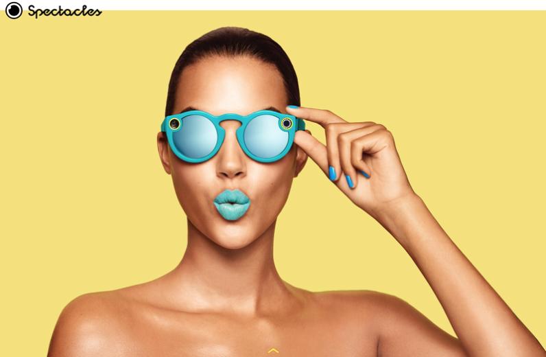 okulary snapchat
