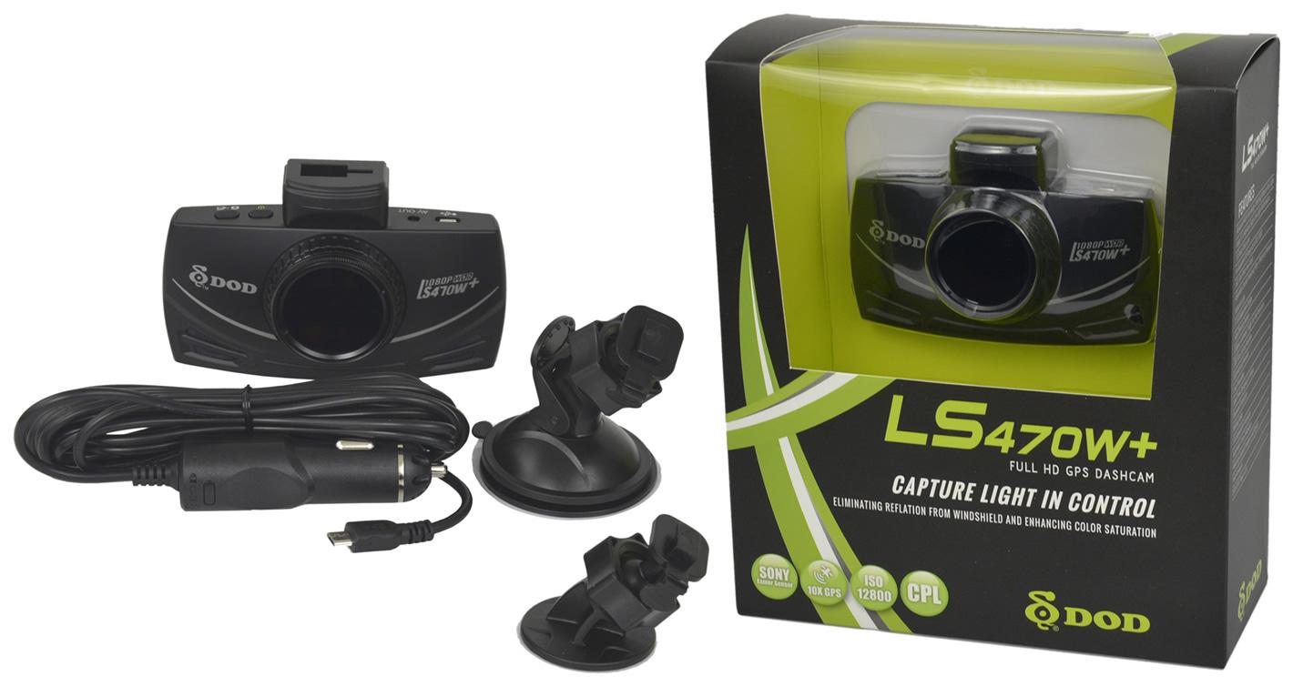 Wideorejestrator DOD LS470W+