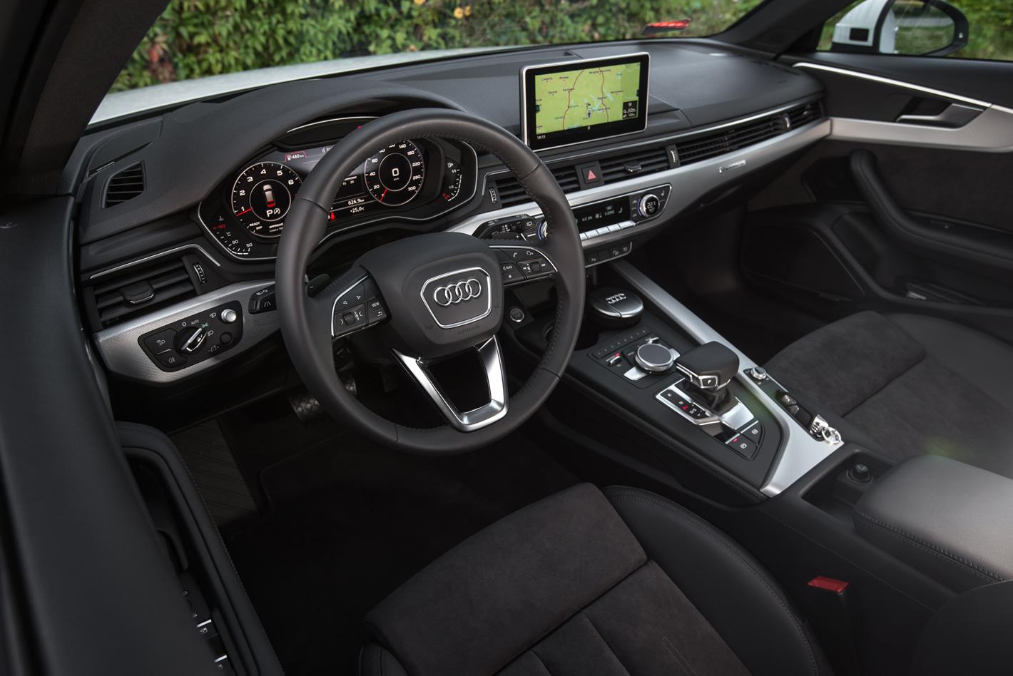 Wnętrze Audi A4 allroad quattro