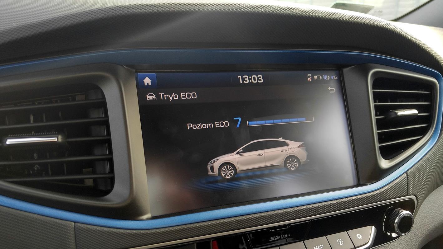 Ocena mojej jazdy w Hyundai IONIQ Hybrid