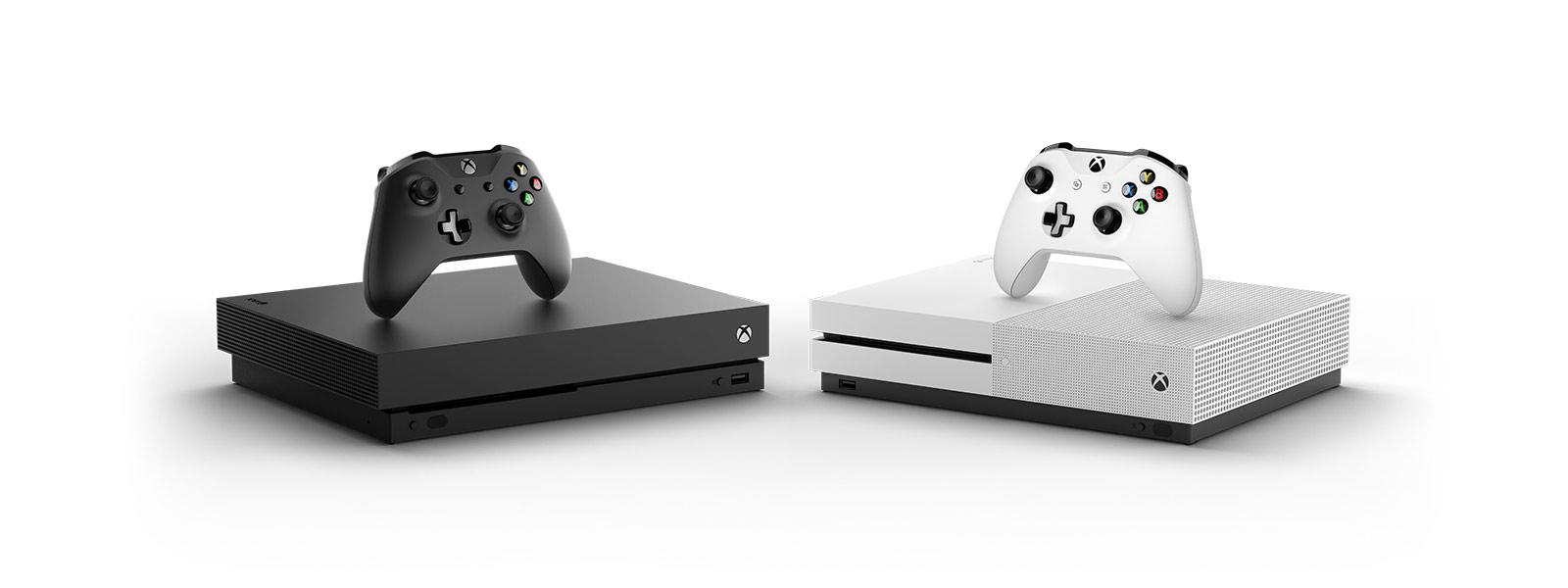 Xbox One X oraz Xbox One S