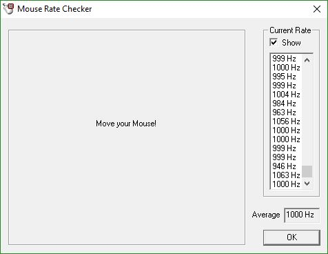 roccat mouse rate checker