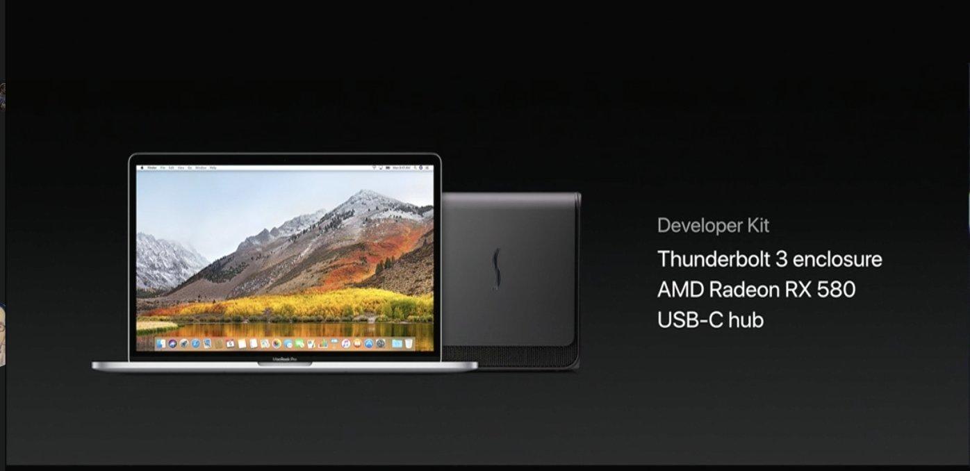 ios apple thunderbolt 3