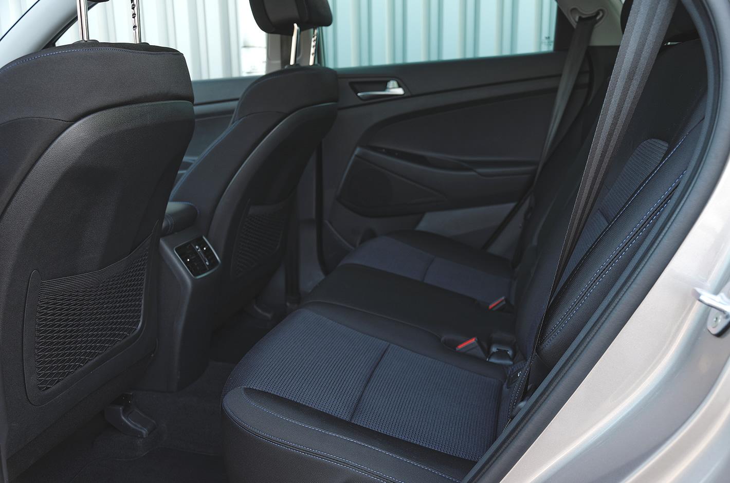 Hyundai Tucson - ilość miejsca ztyłu