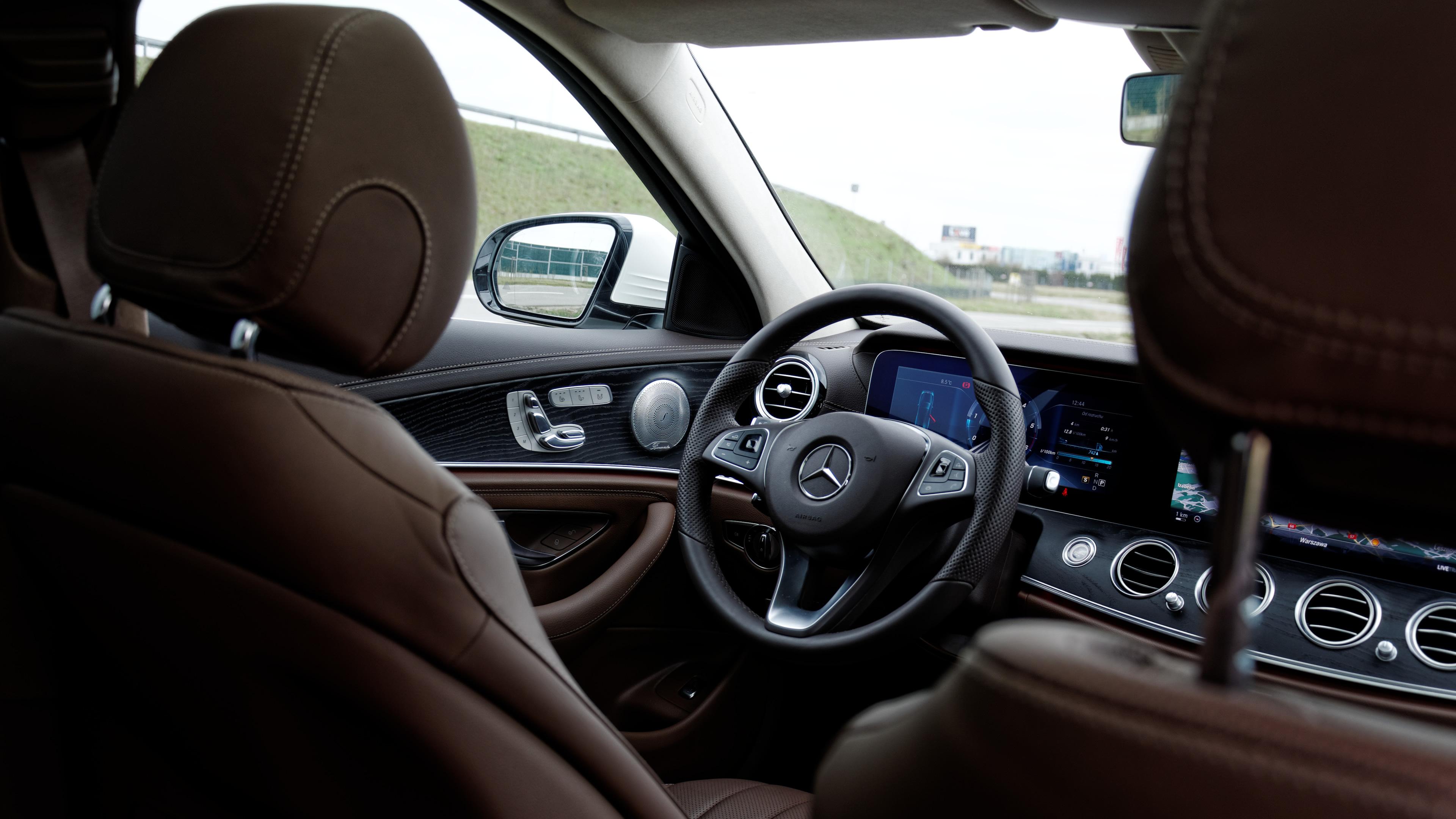 Mercedes-Benz Klasy E All-Terrain - wnętrze