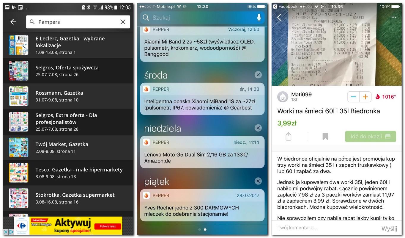 screenshot smartfon pepper oferty