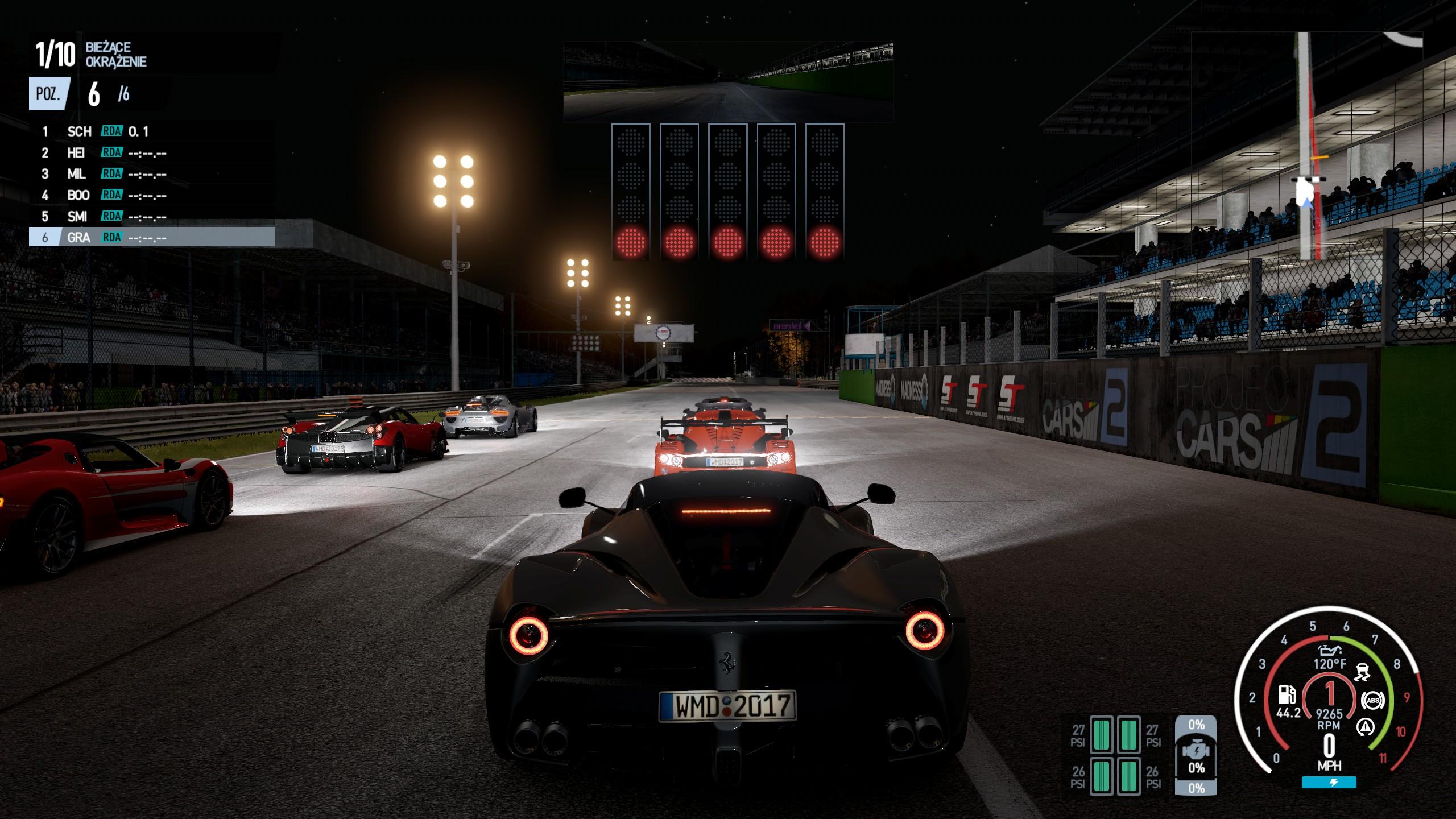 Project CARS 2 - jazda po torze