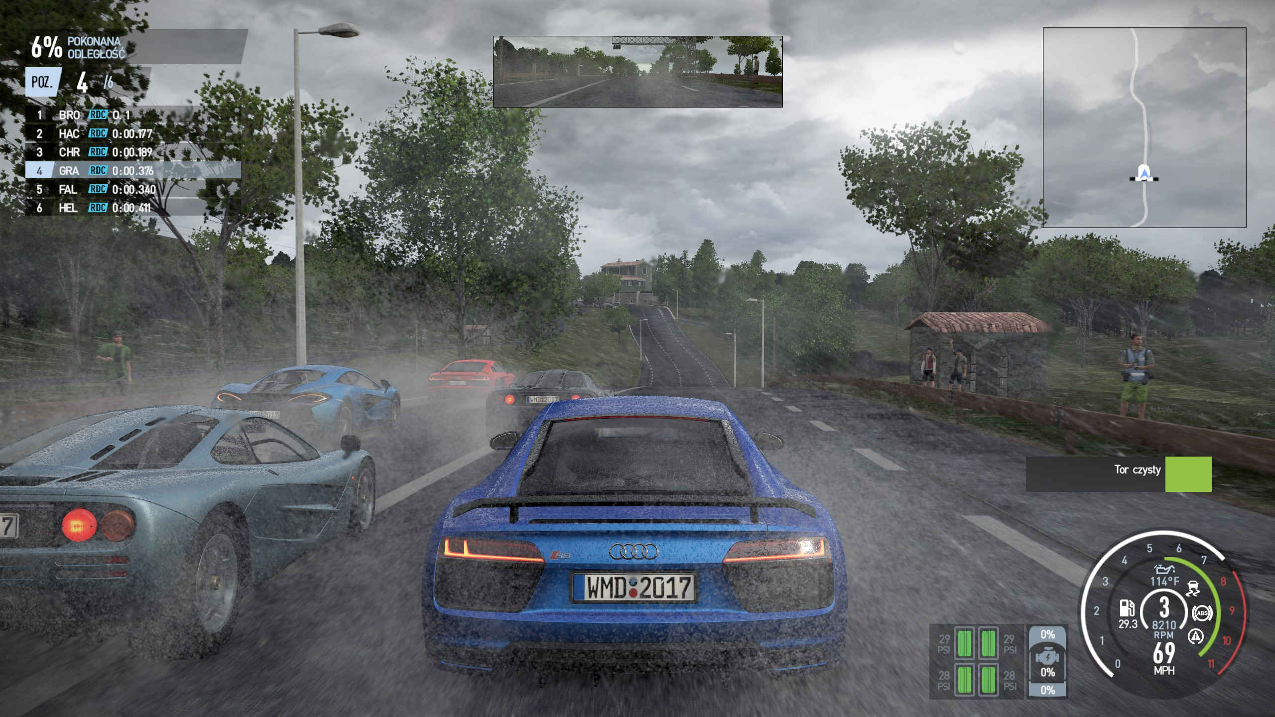 Project CARS 2 - jazda po trasie autem