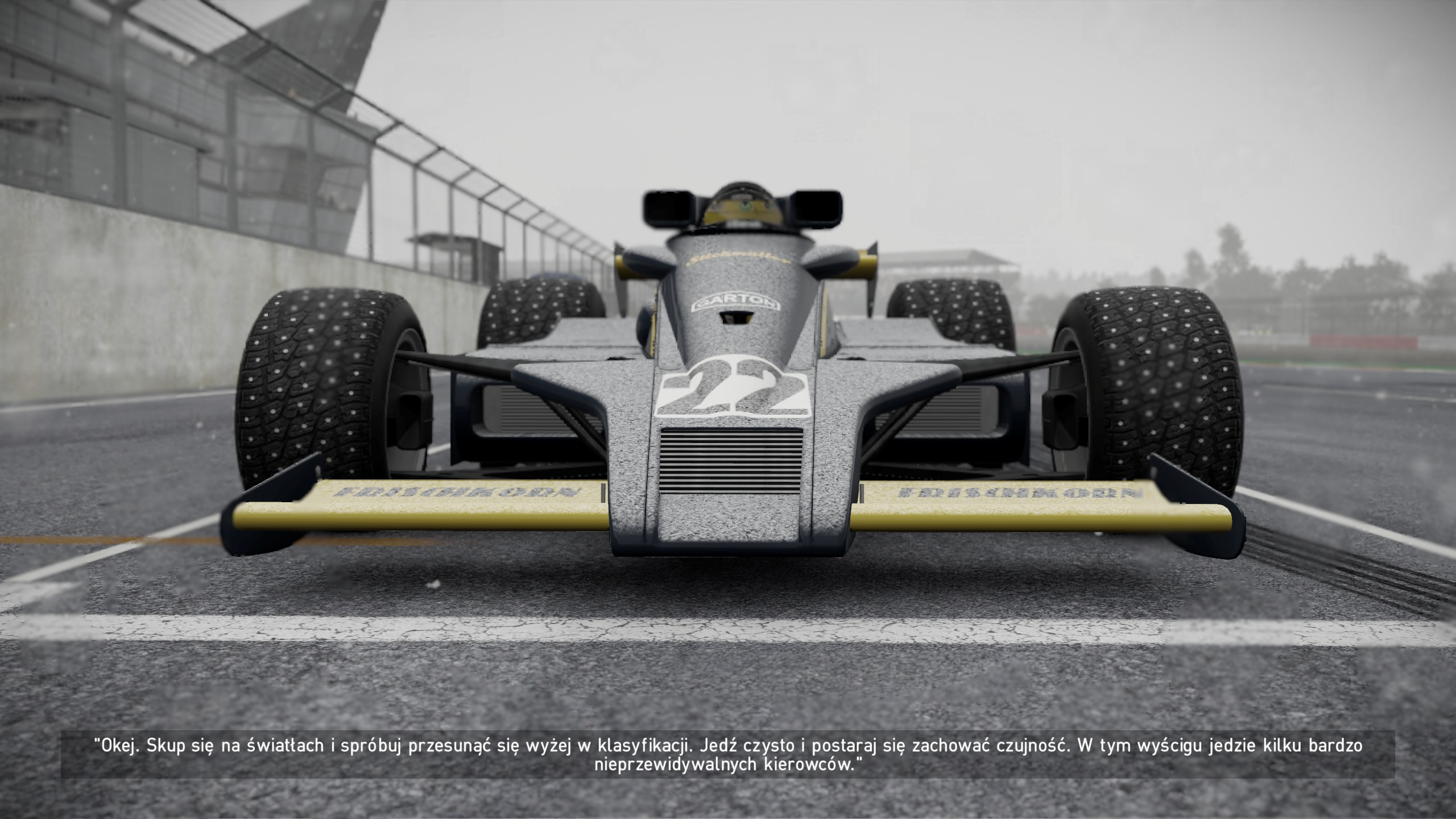 Project CARS 2 widok bolidu