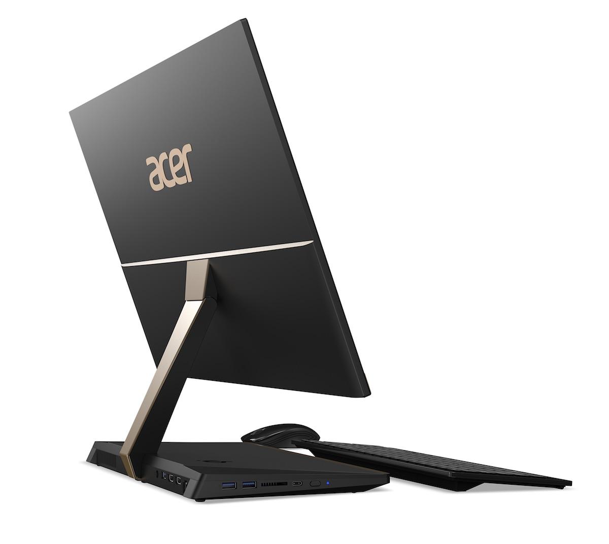 Acer Aspire S24 wygląd od tyłu