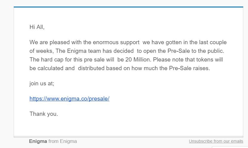 ethereum wiadomość email