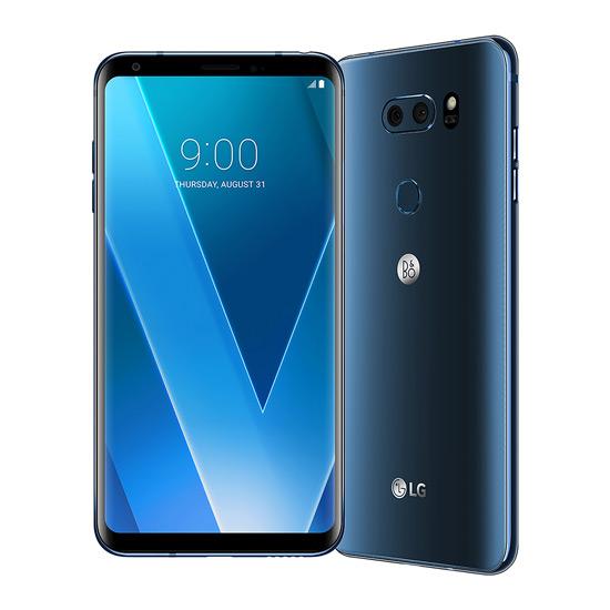 LG V30 niebieski