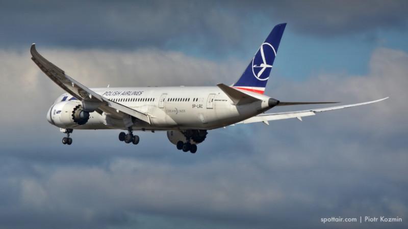 samolot lot w powietrzu - zdjęcie 1