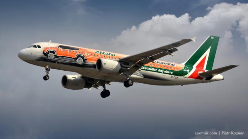 alitalia samolot
