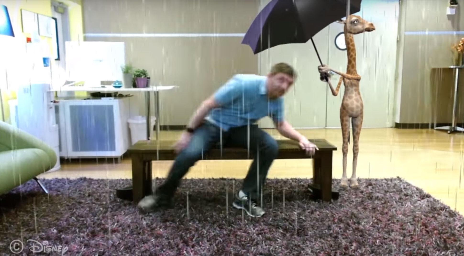 ławka odDisney - prezentacja
