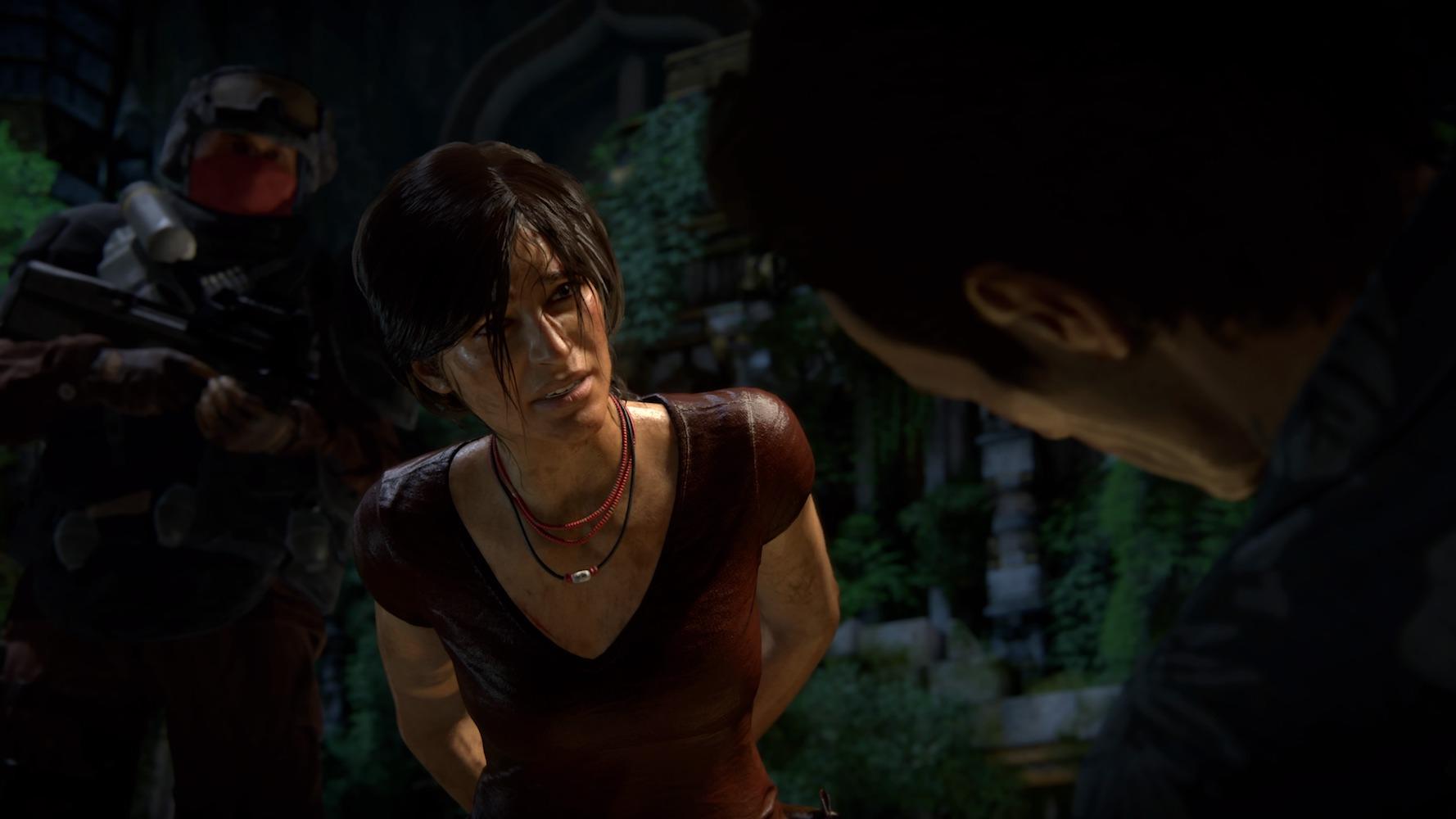 Uncharted: Zaginione Dziedzictwo na PS4 postać z gry