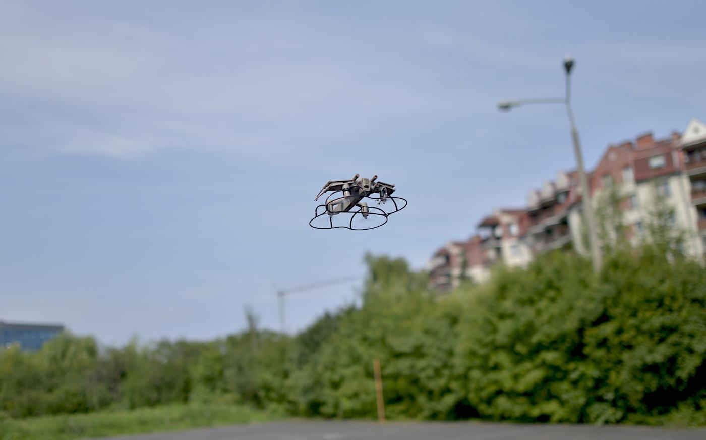 dron star wars wlocie