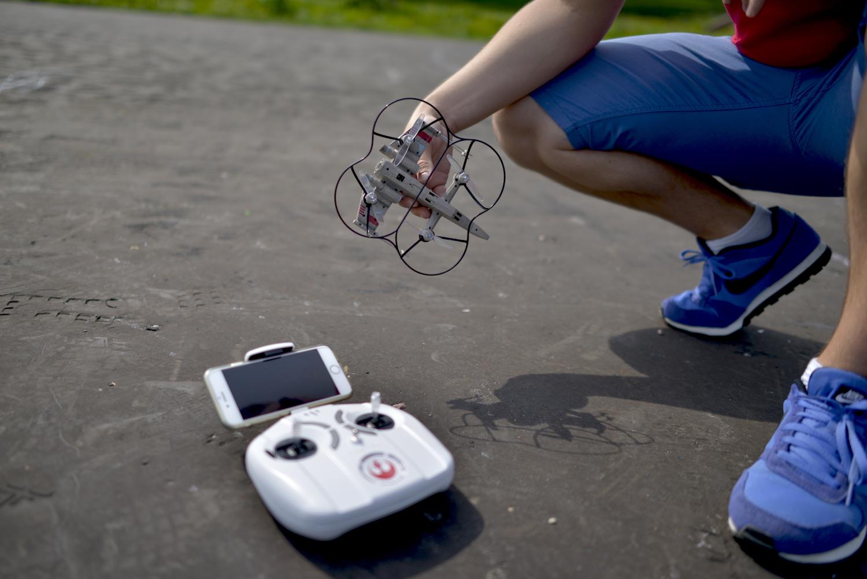 sterowanie dronem star wars propel
