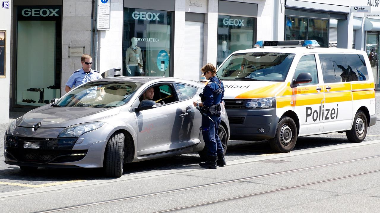 zatrzymanie przez policję kontrola drogowa