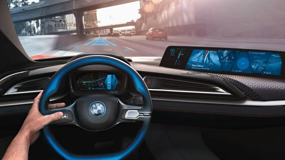 autonomiczny samochód grafika