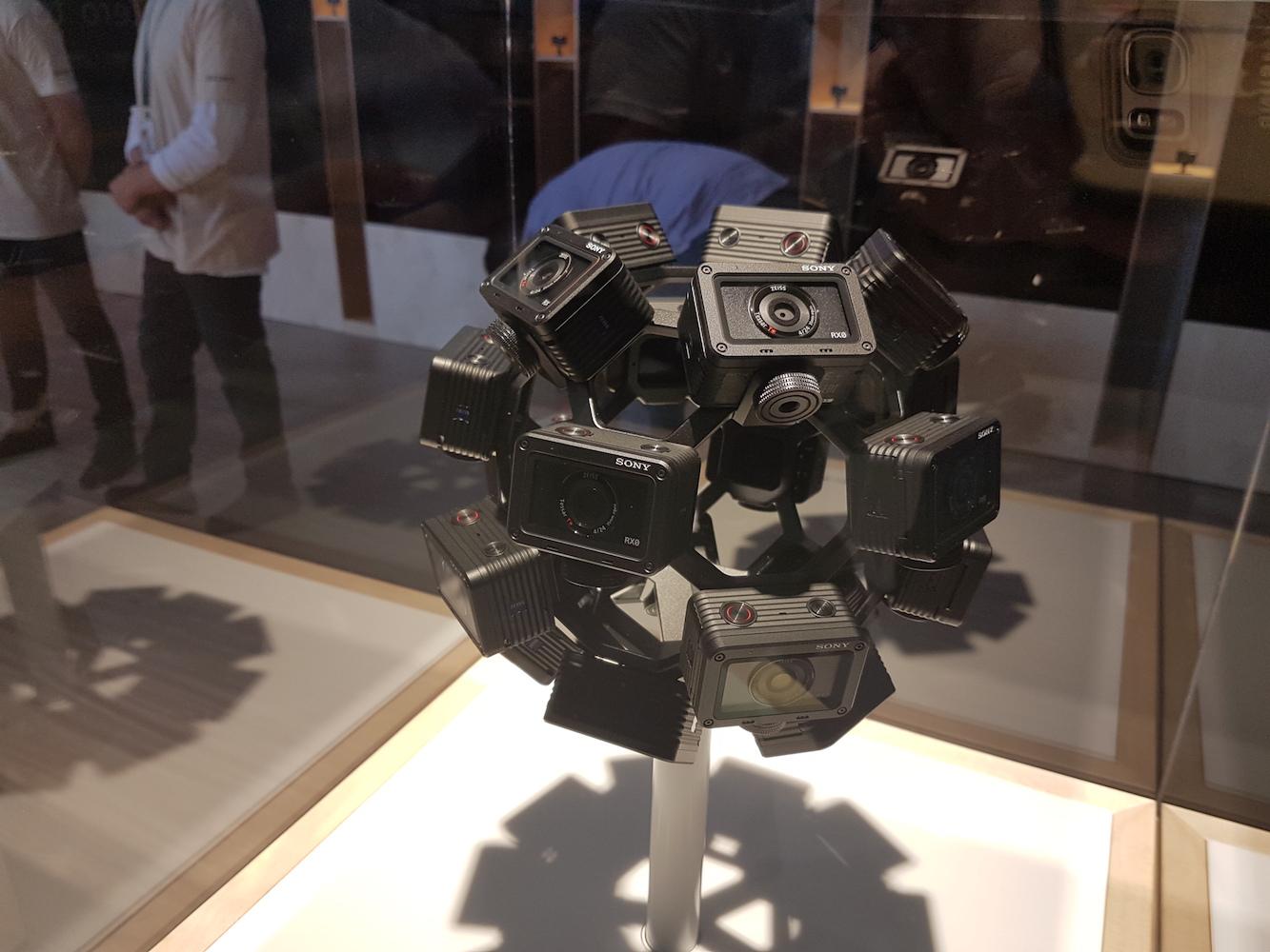 Kamera Sony RX0 - zbiór modeli