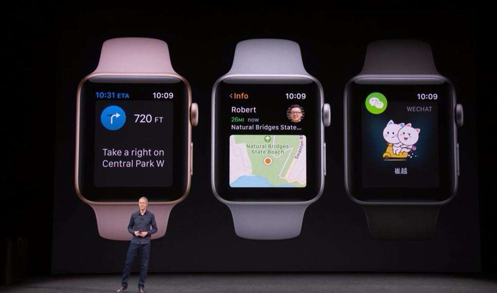 funkcje w apple watch 3