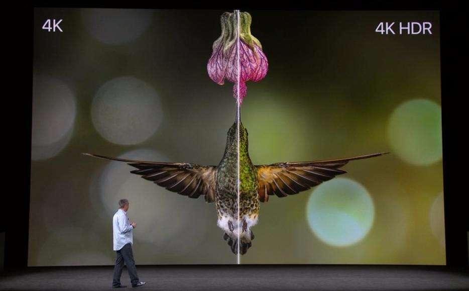 apple tv 4k a 4k HDR prezentacja konferencja apple