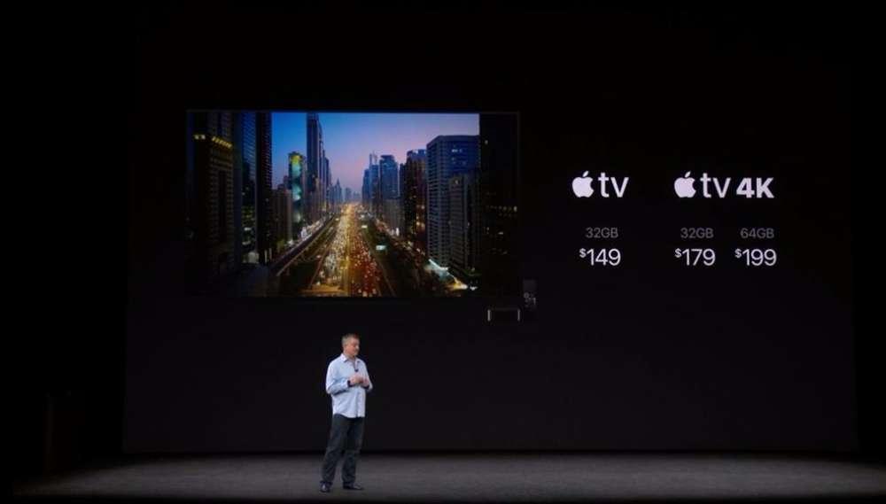 apple tv i apple tv 4k prezentacja konferencja apple