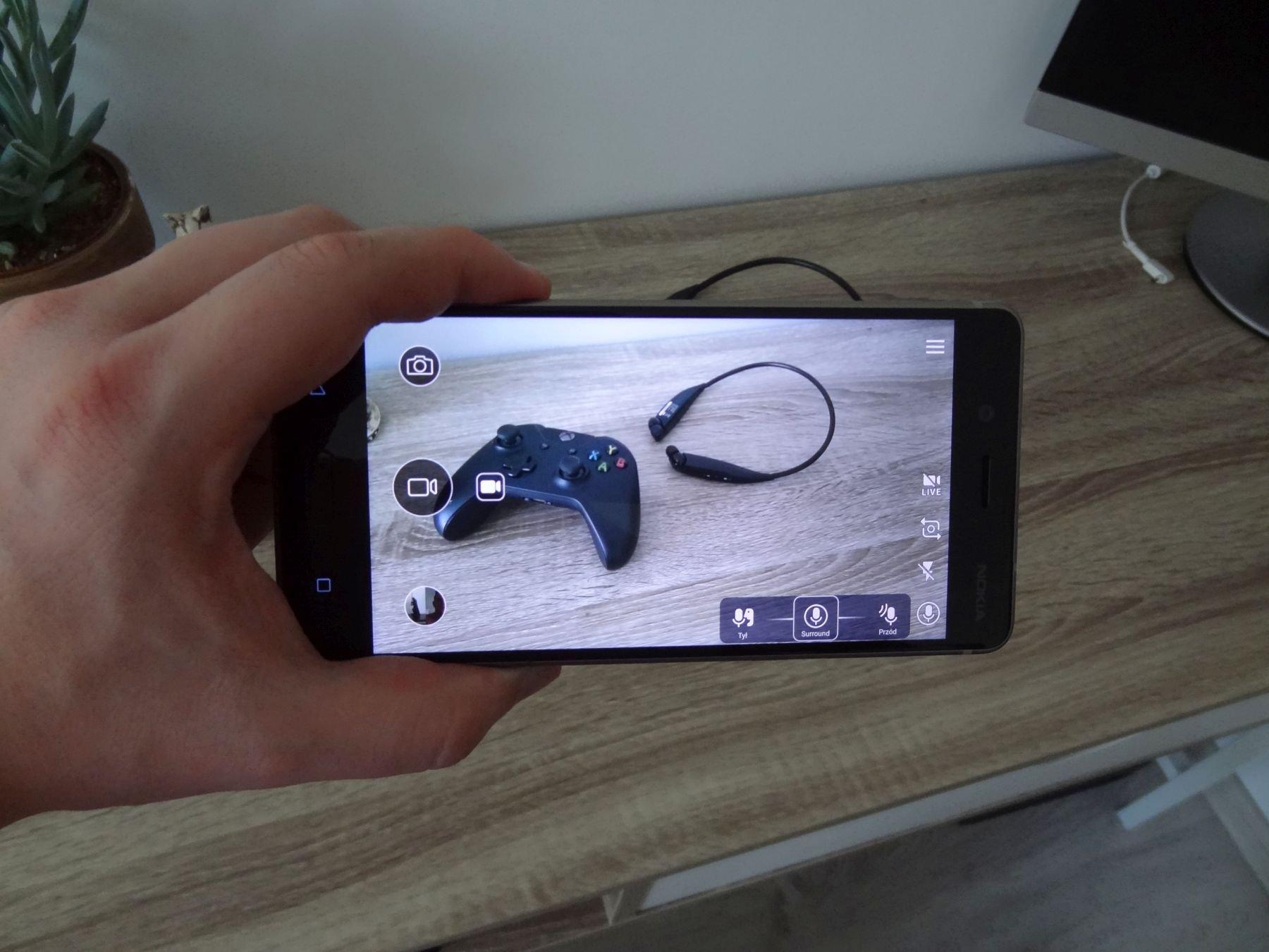 Nokia 8 - robienie zdjęcia smartfonem