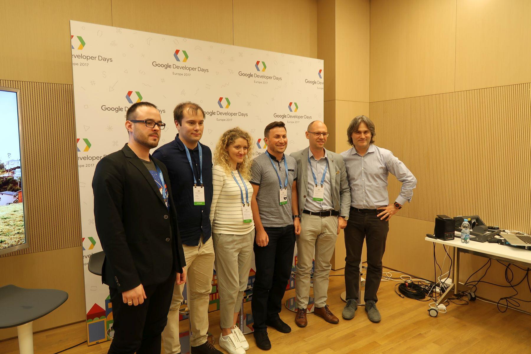 ekipa z google developer days europe