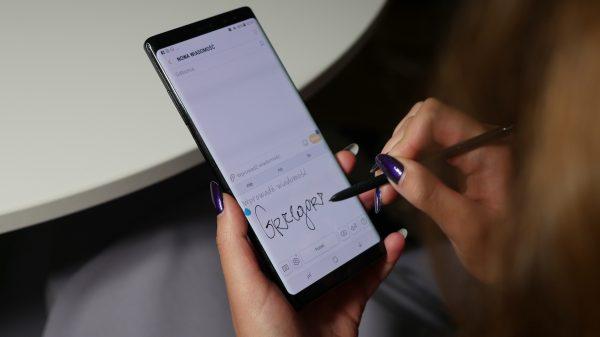 Samsung Galaxy Note 9 wyróżnia z pewnością rysik