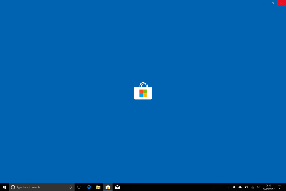 Microsoft Store, Sklep Windows screenshot