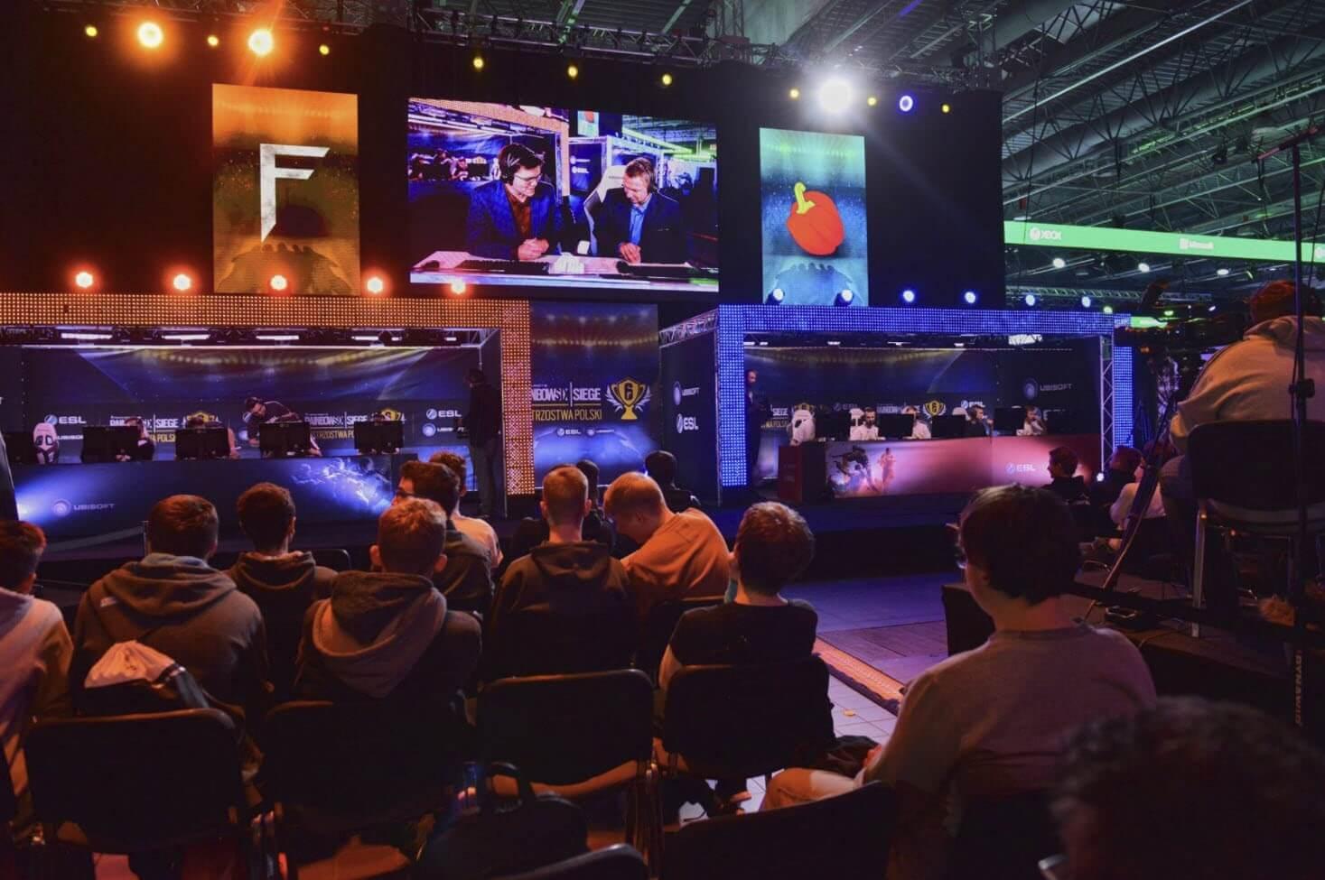 T-Mobile Warsaw Games Week - widok z widowni