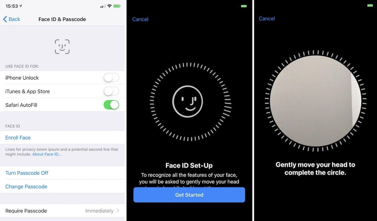nowe funkcje na nowym iOS - face ID