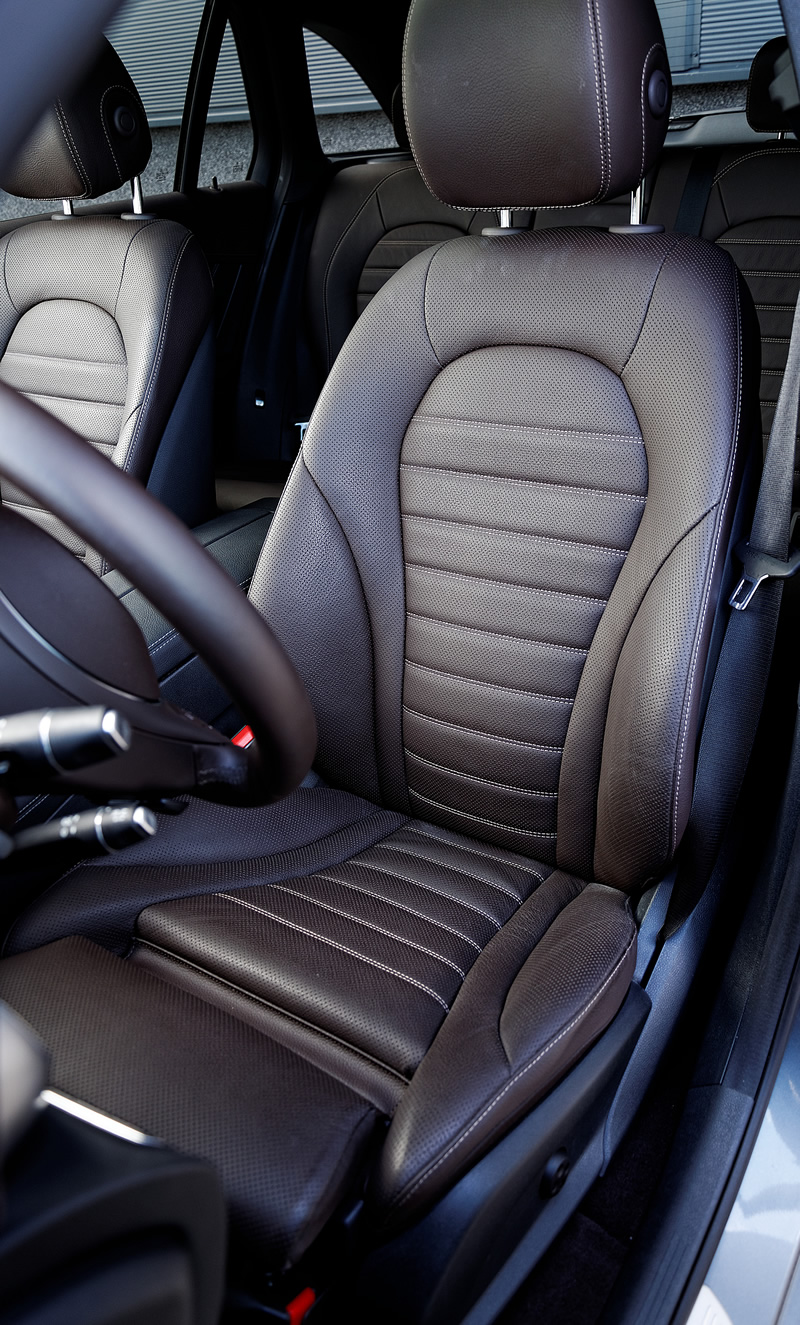 Przednie fotele wMercedes-Benz GLC 350 e 4Matic
