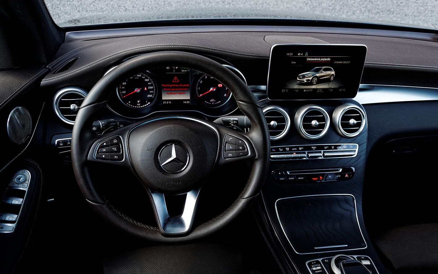 Kierownica wMercedes-Benz GLC 350 e 4Matic