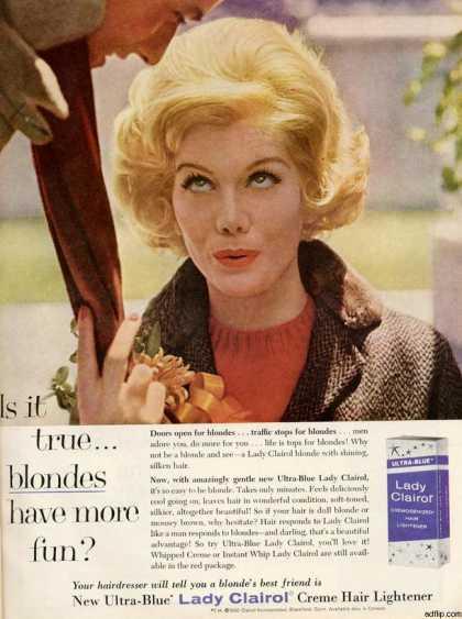 lady clairol - stara reklama