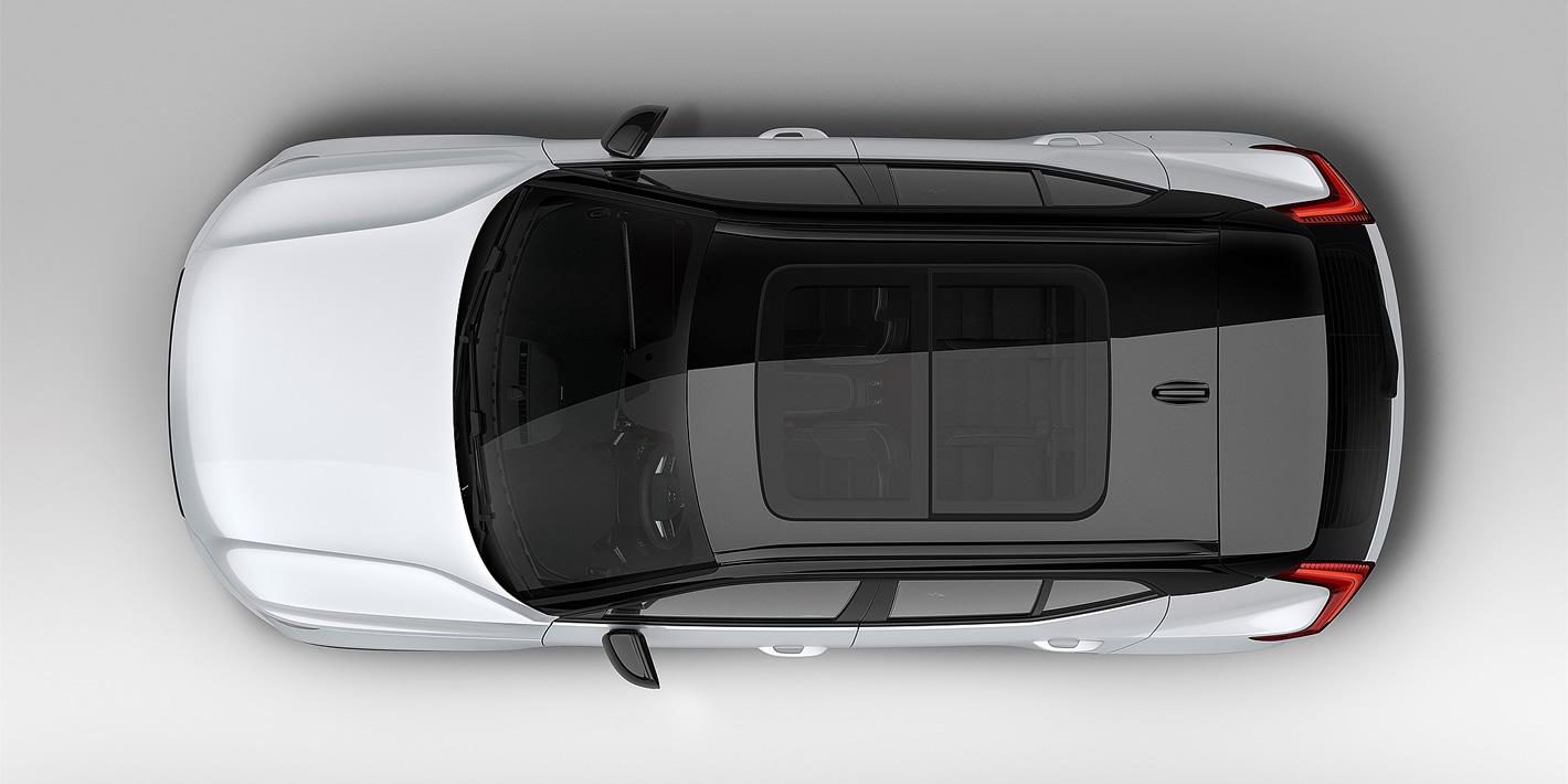 Volvo XC40 z góry