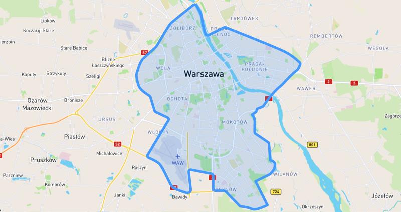 w Warszawie dokońca października zapłacimy zataksówkę mytaxi 50% mniej