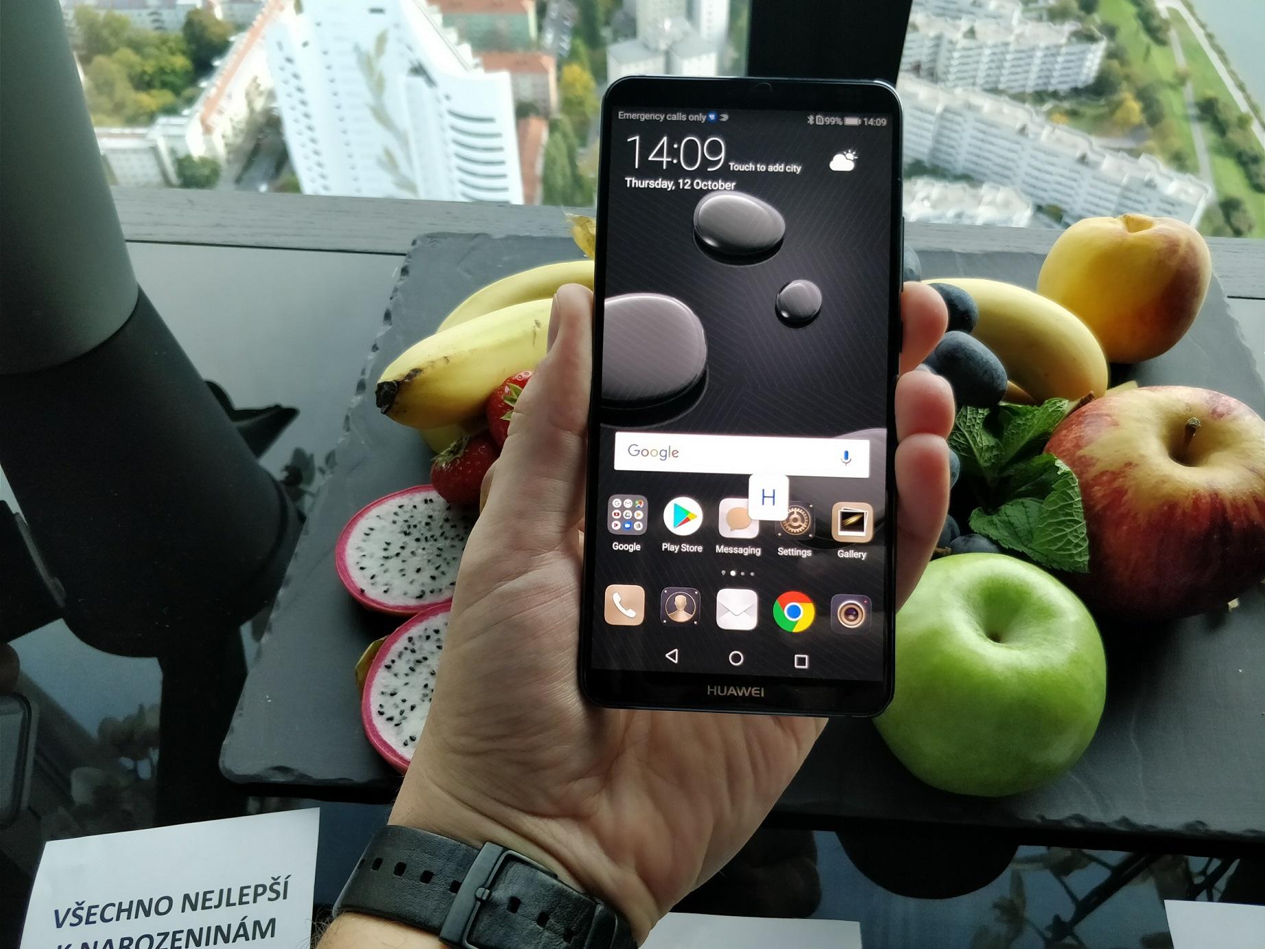 Huawei Mate 10 - widok zprzodu