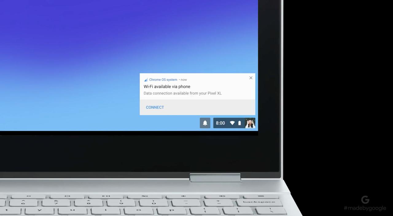 Nowy komputer Google Pixelbook