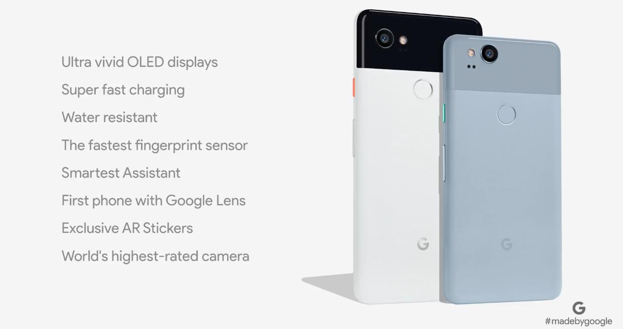 Google Pixel 2 iGoogle Pixel 2 XL