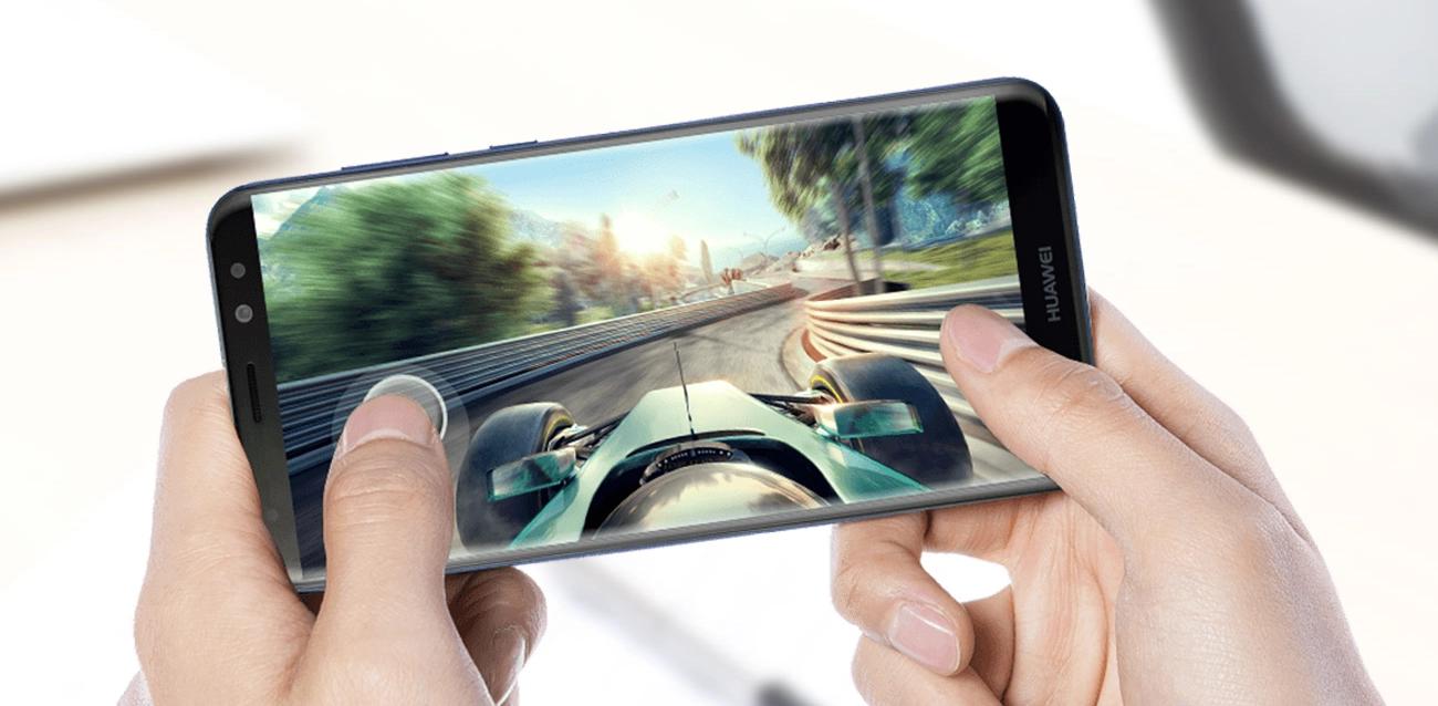 Huawei Mate 10 Lite - wygląd zprzodu